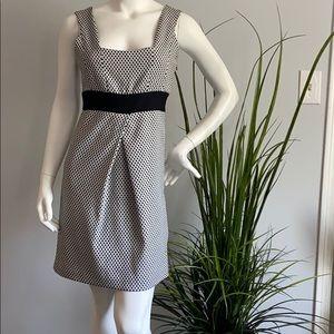 Zara Black and White Armless Dress
